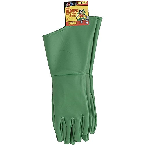 Teen Titan Robin Adult Gloves Costume (Robin Adult Gloves)