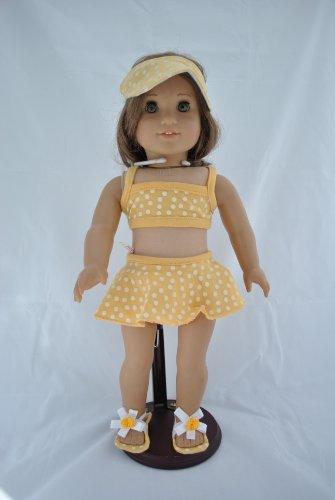 Uniqu (Yellow Polka Dot Bikini Costume Child)
