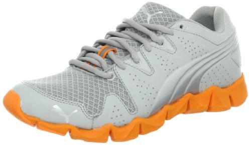 PUMA Mens Shintai Runner Running Shoe High/Rise/Silver Metallic/Orange