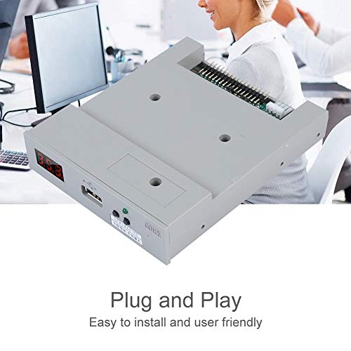 fosa Floppy & Tape Drives SFR1M44-FU USB Floppy Drive Emulator for Embroidery Machine Plug and Play Floppy to USB Converter with 3.5In 1.44MB 34-Pin Floppy Disk Driver Interface by fosa (Image #4)