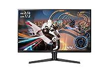"LG 32GK850F-B Pantalla para PC 80 cm (31.5"") Wide Quad HD LED Plana Mate Negro - Monitor (80 cm (31.5""), 2560 x 1440 Pixeles, Wide Quad HD, LED, 5 ms, Negro)"