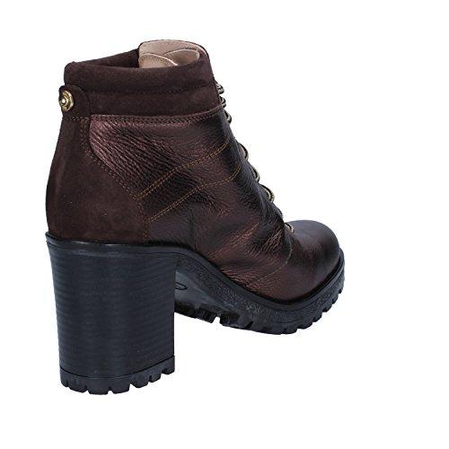 Brown Ankle EU 36 Jo Leather Boots Womens Liu wZ5YvxOq