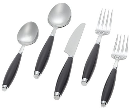 Fiesta Plum 5-Piece Flatware Set, Service for 1 - Plated Bolster