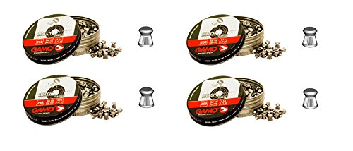 4 latas de 250 perdigones Gamo Match Diabolo de Copa 5, 5mm. Modelo 320025