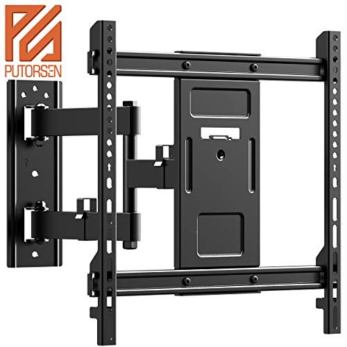 "PUTORSEN® Staffa per TV con Movimento Girevole ed estendibile -Supporto per Montaggio a Parete per TV da 32-70"" -Staffa Ultra Resistente 50kg, Max. VESA 400x400mm"