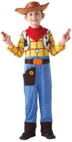 Toy Story Woody Disfraz de niños. Disfraz Oficial de Disney Cowboy ...