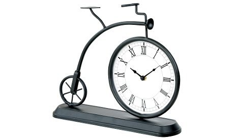 Old Fashioned Bicycle Table Clock