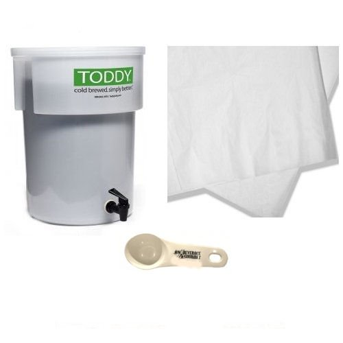 Toddy Commercial Model Brew System, Set of 50 filters and