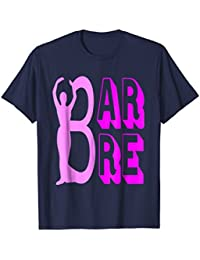 Barre standing pose silhouette t-shirt