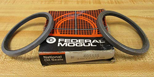National Federal Mogul 40555S Oil Seal (Pack of 2)