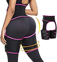 PHIONXEI Sweat Waist Trainer for Women Workout at Home,3-in-1 Sauna Waist Trimmer and Butt Lifter