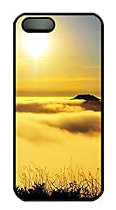 iPhone 5s Cases & Covers - Yellow Landscape PC Custom Soft Case Cover Protector for iPhone 5s - Black