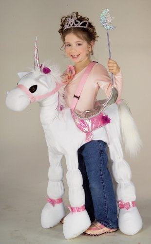 A Unicorn Costume Riding (Forum Novelties Children's Costume Ride a)