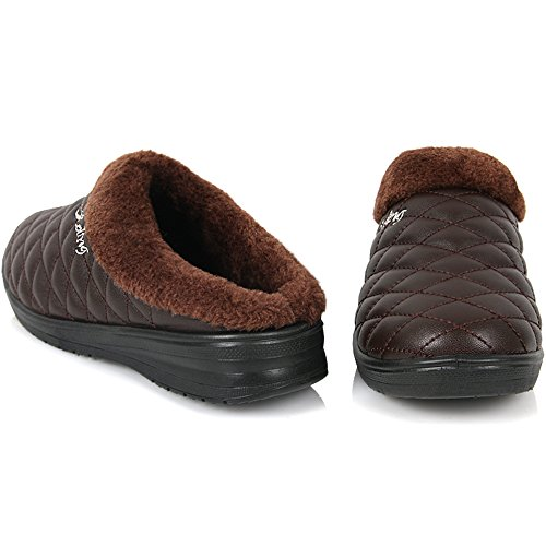 Mule Comfort Shoes Warm Winter Loafer On Brown Slipper Slip Casual Womens Slide New dBOXPqUwxx