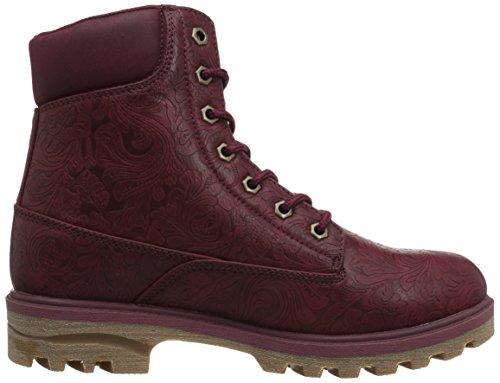 Lugz Womens Empire Hi Fashion Boot Black Cherry / Gum