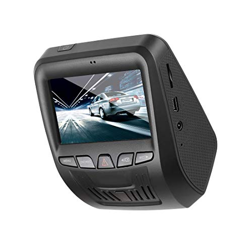 Car Dash Cam,Car Recorder 1080P FHD Gesture Sensor Camera 170 Degree Wide Angle Dashboard Camera Recorder with Sony Exmor Video Sensor, G-Sensor, WDR, Loop Recording