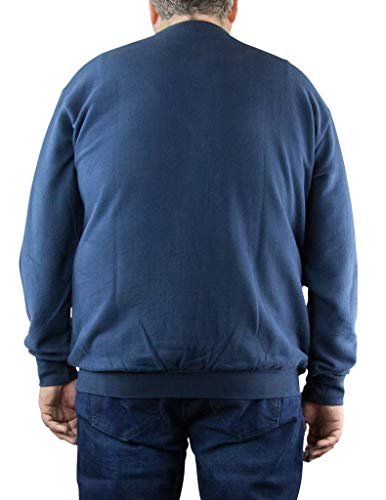 Size Bleu Sweat 2xl Au Col Grande Rond Marine All Du 8xl xBgpnqq