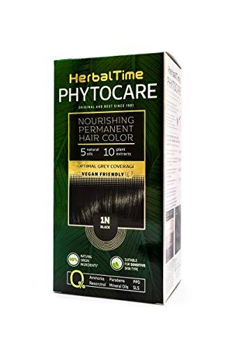 🥇 Phytocare Tinte permanente y nutritivo para cabello sin amoniaco