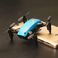 OOFAY Drone with Camera S9 Mini Fold UAV Resistance Drone Handheld Children Remote Control Aircraft Quadrocopter