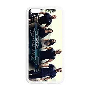 Customize TPU Gel Skin Case Cover for iphone 6+, iphone 6 plus Cover (5.5 inch), Fast And Furious 7