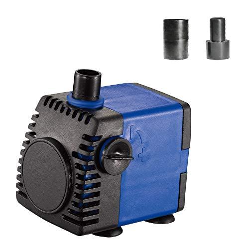 JAJALE 160 GPH Submersible Water Pump Ultra Quiet for Pond,Aquarium,Fish Tank,Fountain,Hydroponics