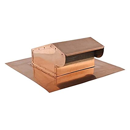 Bath and Kitchen Exhaust Vent- Copper 4 inch