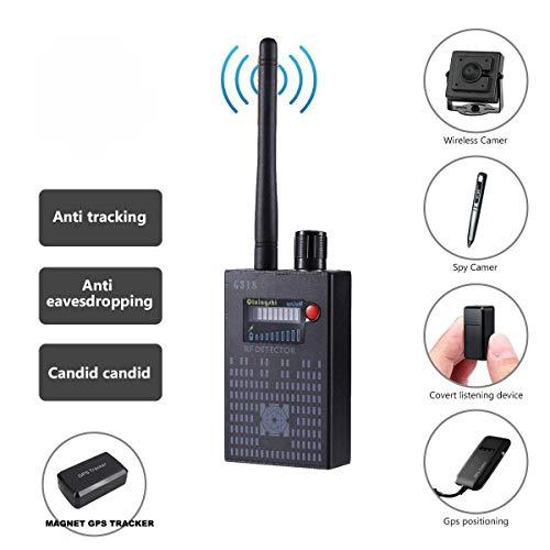 Supper Anti-spy Bug GPS Camera RF Signal Detector Set