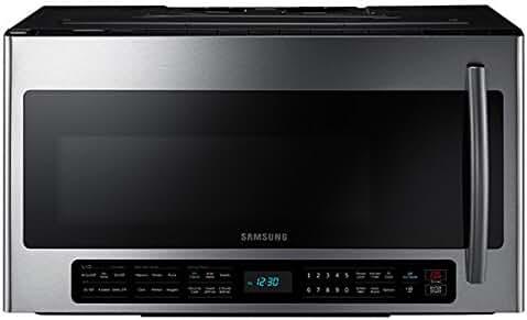 Samsung ME21H706MQS 2.1 Cubic Foot 1100 Watt Over the Range Microwave