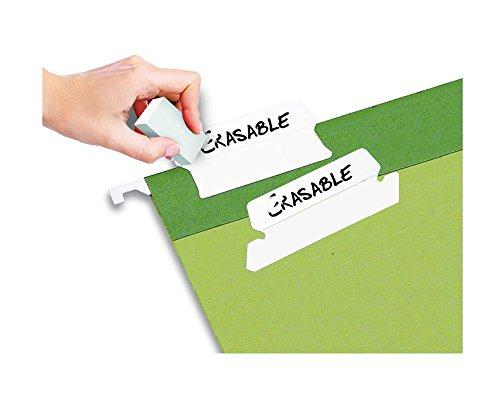 Jokari Label Once Erasable Hang Tabs Refill Pack, 20-Count