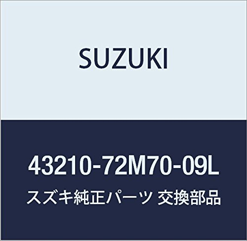 SUZUKI (スズキ) 純正部品 ホイール 品番43210-72M70-09L B01N0EJV9N