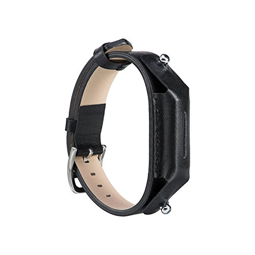 TenYun Leather Band for Fitbit Flex 2 - Man and woman Flex 2 Leather Strap Adjustable Replacement Leather Sleep Wristbands with Clasps for Fitbit Flex 2 Wireless Activity Tracker Bands (Flex Leather)