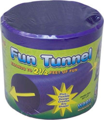 Ware Manufacturing Fun Tunnels Play Tube for Small Pets, 30 X 8 Inches - Large ()
