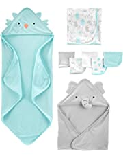 Simple Joys by Carter's Baby 8-Piece Towel and Washcloth Set, Multi, One Size