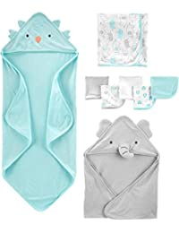 Baby 8-Piece Towel and Washcloth Set