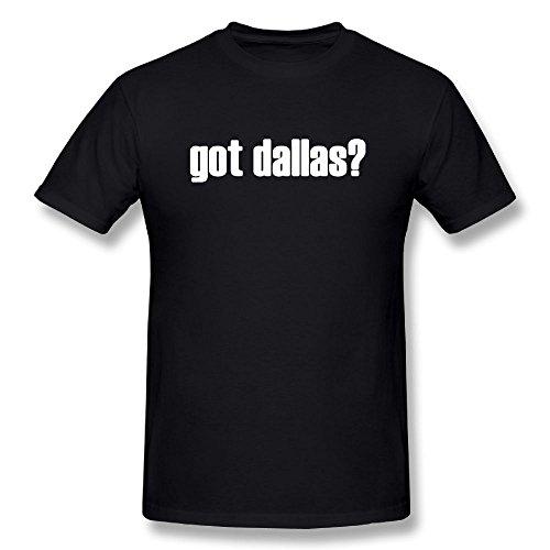 Iayixing Men's T Shirt-Fashion GOT DALLAS Black (The Church Dallas Halloween)