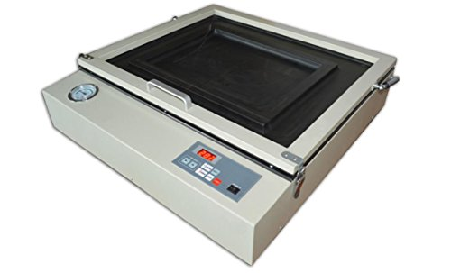 Screen Printing Vacuum Exposure Unit 110V Precise 2420 Pad Printing Plat Making by Screen Printing