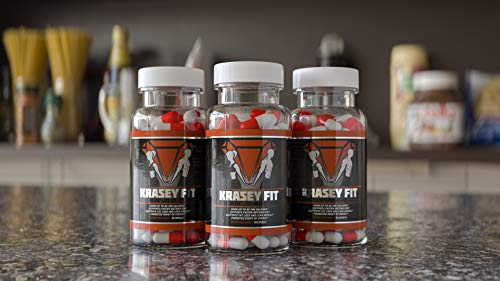Thermogenic Fat Burner Dietary Supplement by KraseyFit | Appetite Suppressant & Metabolism Booster | Increase Energy & Weight Loss | Essential Vitamins & Minerals | 60 Capsules by KRASEYFIT (Image #3)