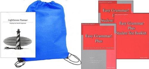 Easy Grammar Grade Plus (Grades 7-12) SET homeschool kit in a bag - Easy Grammar Systems
