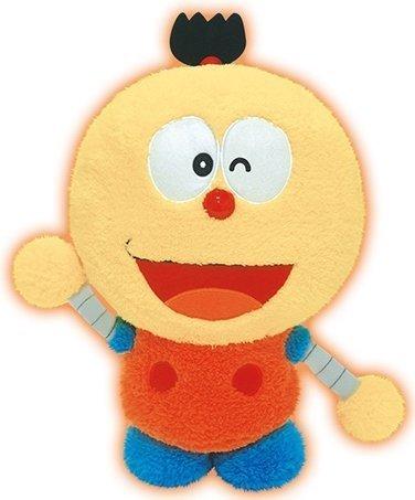 Kiteretsu Daihyakka oversized stuffed fluffy roller assistant (Wink)
