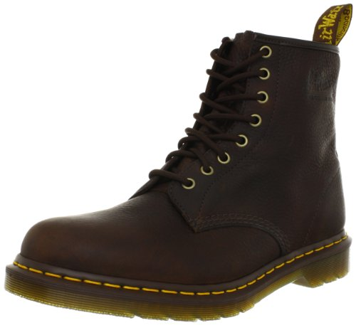 Classic 6 Eye Boot - Dr. Martens 1460 8 Eye Boot,Bark,6 UK/7 M US