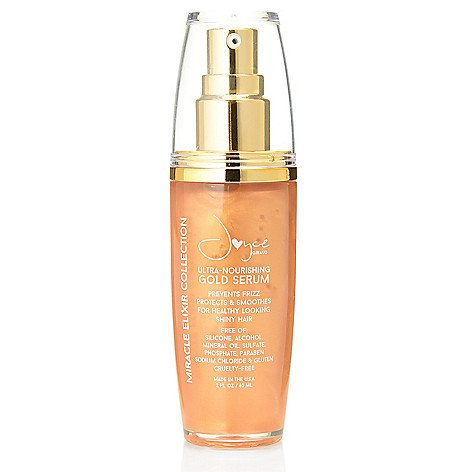 Anti Frizz Soften and Smooth Hair Serum by Joyce Giraud with Ultra Nourishing PURE4 ()