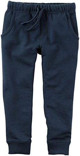 Carter's Baby Boys Knit Pant, Navy, 9 Months