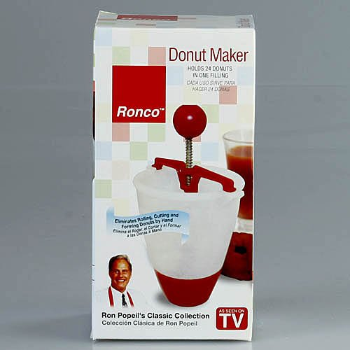 Ronco TF7004 Classic Collection Donut Maker, Dispense Biscuits, Crepes, Pancakes