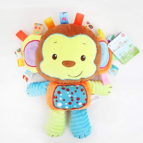 JEWH Comforting Doll with BB rattles - Toys for Baby - Appease Dolls for Kids ( Monkey) from JEWH