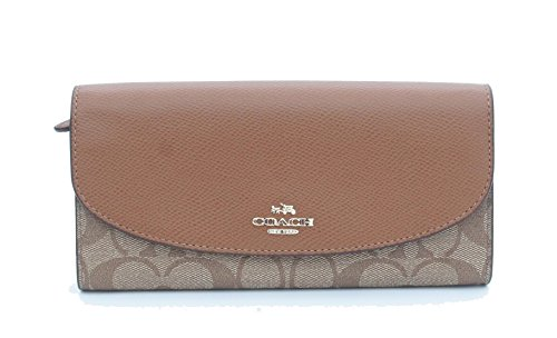 Coach Signature Slim Envelope Wallet