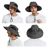 EINSKEY Men's Waterproof Sun Hat, Outdoor Sun