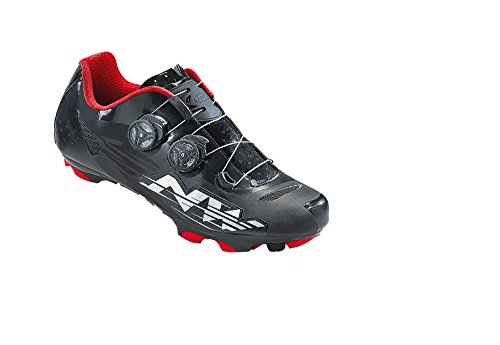 Northwave BLAZE PLUS carretera SPD zapatos blanco-rojo-negro
