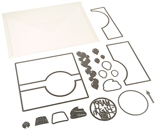 Circle Cards - Sizzix 661123 Card Circle Flip-Its Framelits Plus Die Set by Stephanie Barnard (17/Pack)