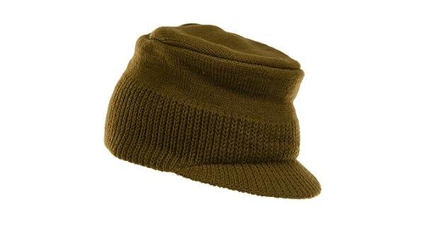 14bda21e92f Amazon.com  Turtle Fur GED Military Shape Soft Visor Cap Olive  Sports    Outdoors