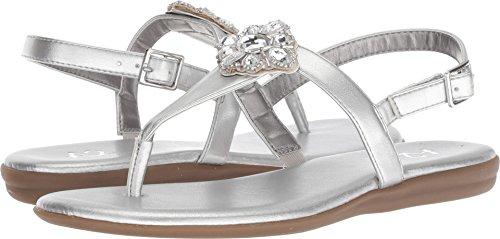 Aerosoles Ladies Shoes (Aerosoles A2 by Women's Chlipper Silver Metallic 8.5 B US)